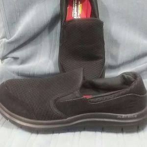 Skechers Relaxed fit Leather work shoe